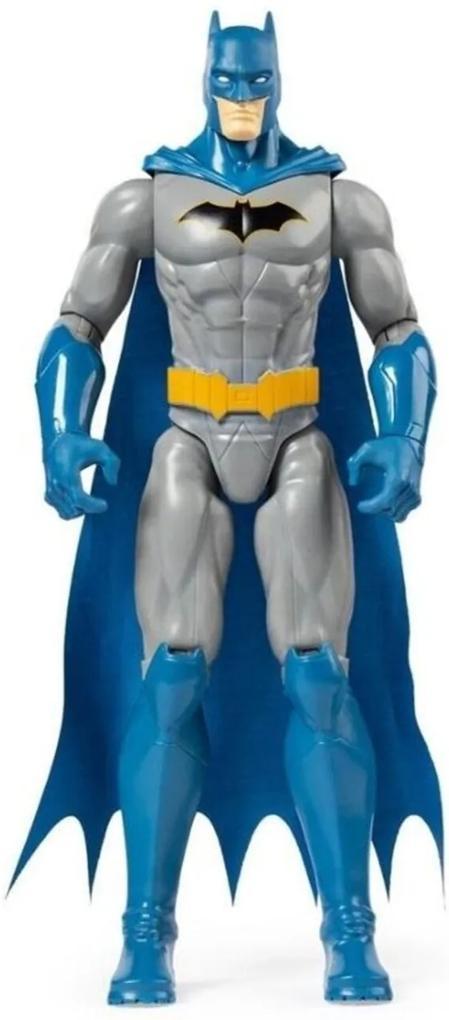 Boneco Batman Articulado Rebirth Blue - Sunny