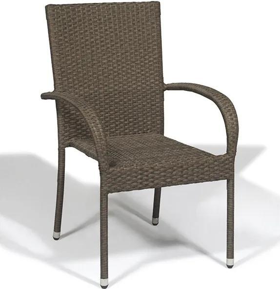 Cadeira de Alumínio Ronne Marrom