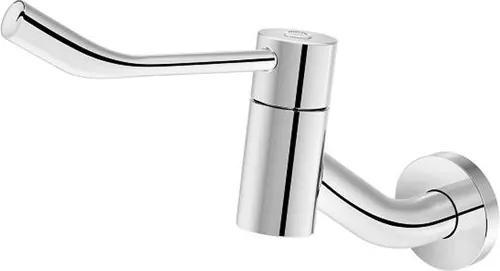 Torneira para Banheiro Parede Bica Curta Benefit com Alavanca Cromada - 00946906 - Docol - Docol