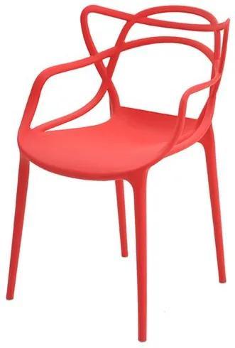 Cadeira INFANTIL Allegra Polipropileno Vermelha - 38192 Sun House