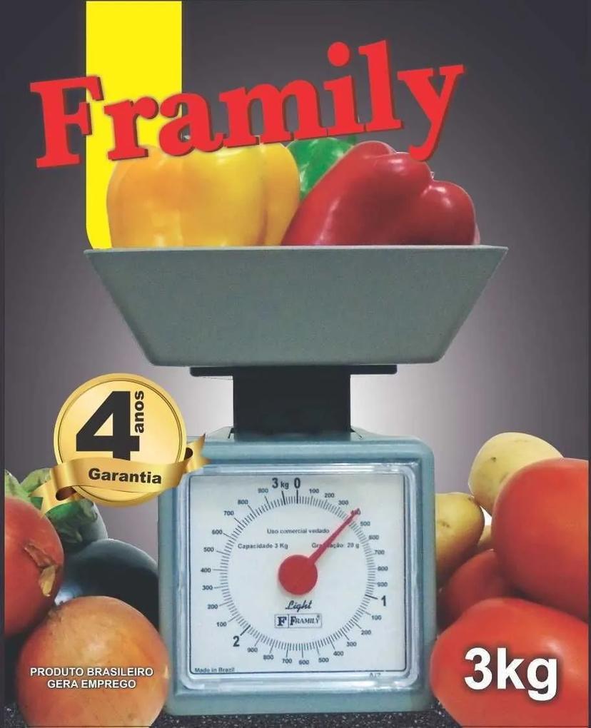 Balança para Cozinha 3kg - Framily