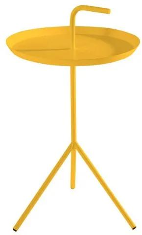Mesa Apoio Handle Amarelo Aco 41 cm (LARG) - 41577 Sun House