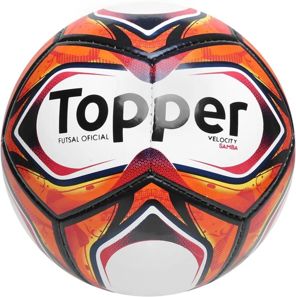 Bola Futsal Topper Samba II TD1 Branca
