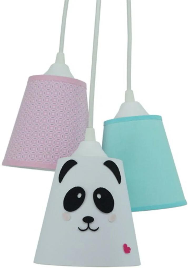 Lustre Crie Casa Pendente Cacho Panda