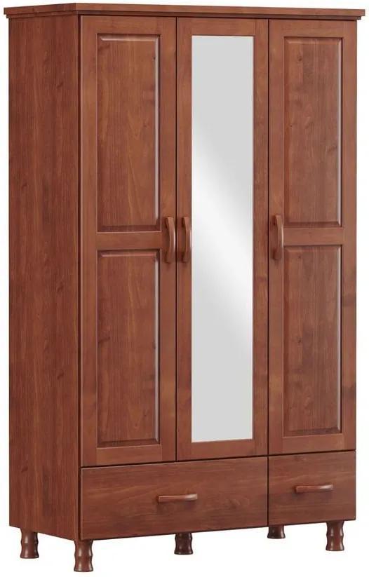 Roupeiro 3 Portas Holbox Imbuia - NS 47085