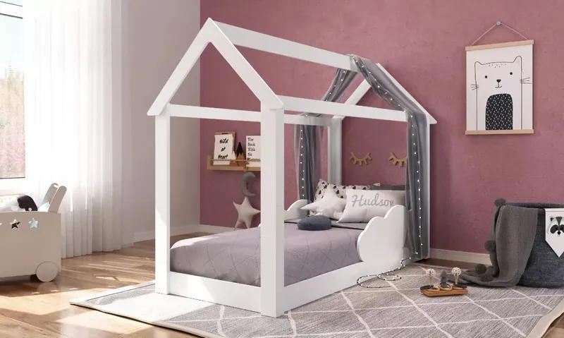 Cama Mini Casinha Montessoriana Infantil Branca