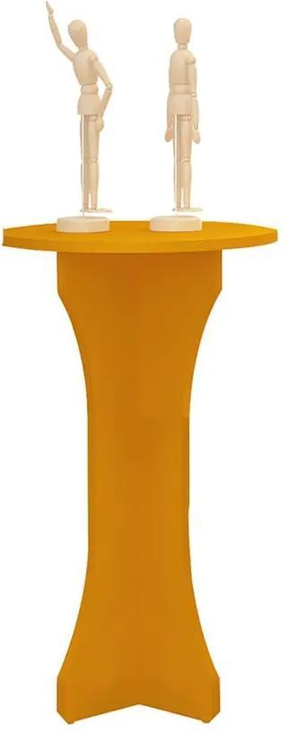 Mesa Apoio Dorica Amarelo