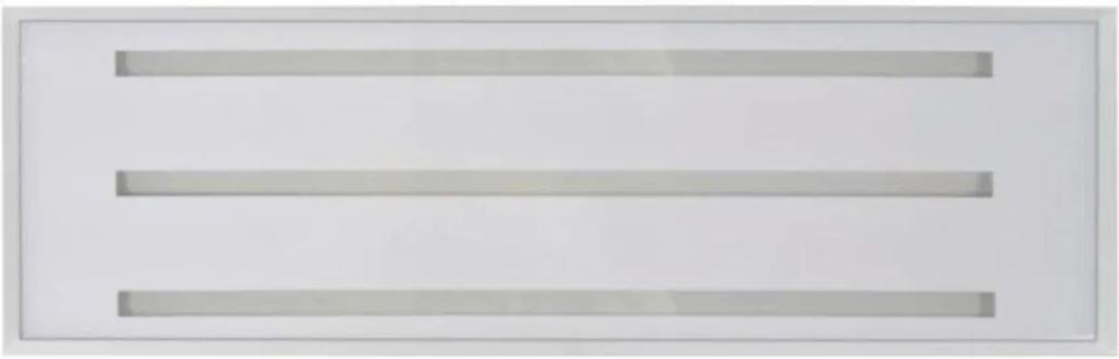 Plafon Led Embutir Retangular Luz Branca Sevilha 60cm