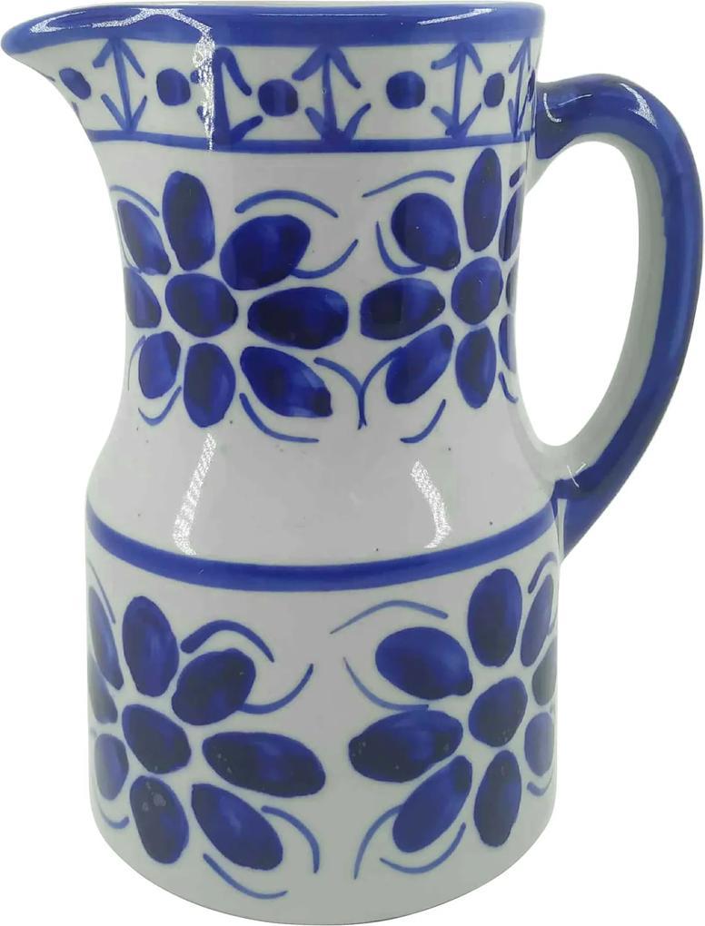 Jarra de Porcelana Azul Colonial 1100 ml