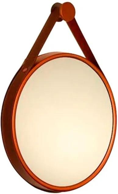 Espelho Decorativo Aluminio Cobre 35cm