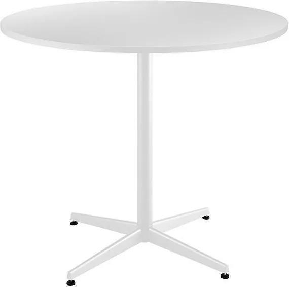 Mesa Rashid Redondo Branco - Daf Mobiliário