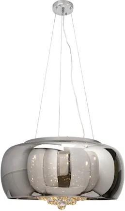 Pendente Vidro Cristal Ø60cm