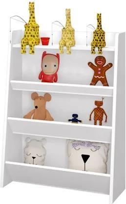 Porta Brinquedos Teco Branco - Móveis Estrela