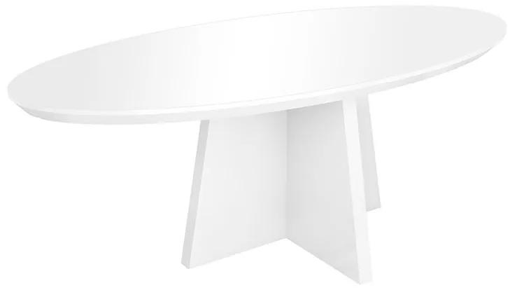 Mesa de Jantar Valentine Com Vidro - Wood Prime DS 31031 0.76 x 1.80 x 1.00