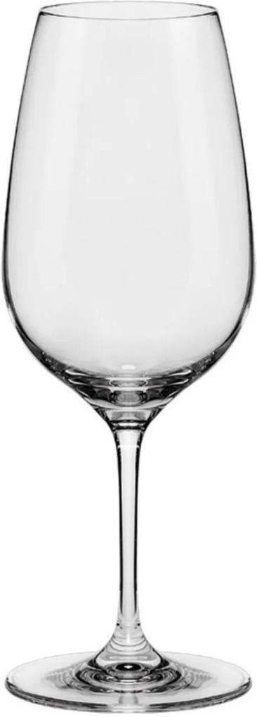 Jogo de 6 Taças de Cristal Água/Vinho Chardonnay 570ml Slim Classic