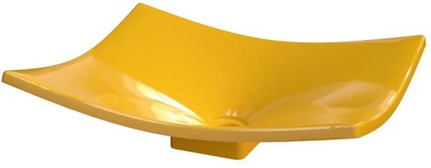 Cuba para Banheiro Folha F44W Amarelo - Compace