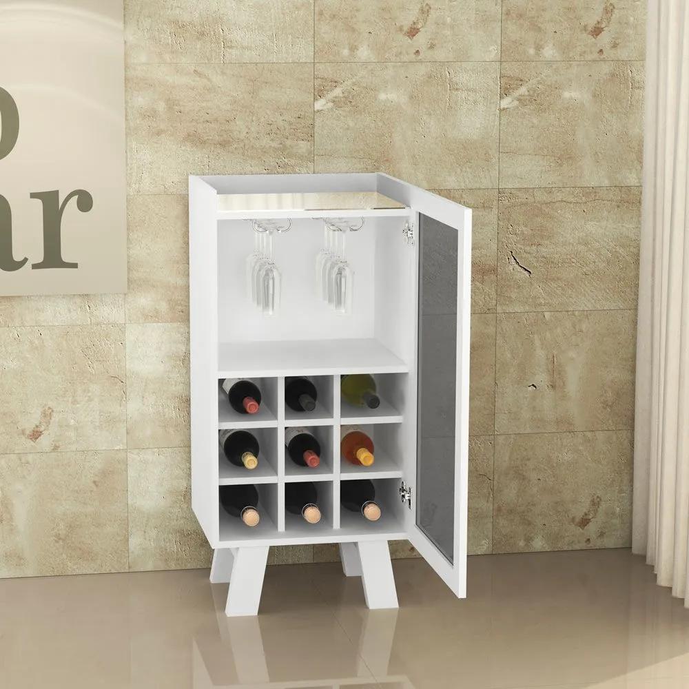 Bar Adega Ad5001 Branco - Tecno Mobili