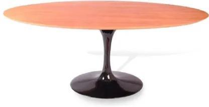 Mesa Jantar Oval Saarinen Madeira 244x137x75