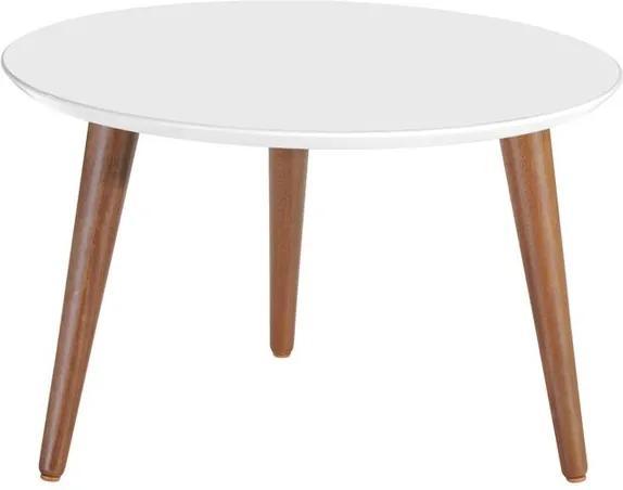 Mesa de Centro Ethan Branco Gloss 0.80 - Wood Prime PV 32590