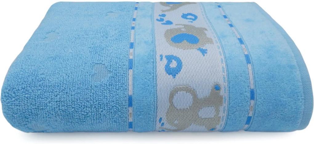 Toalha de Banho Soft Baby - Appel - Azul