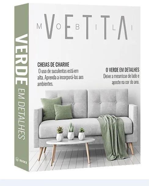 Caixa Livro Vetta Verde Em Detalhes