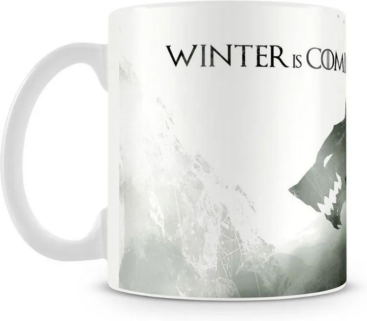 Caneca Personalizada Game Of Thrones Winter (Mod.2)