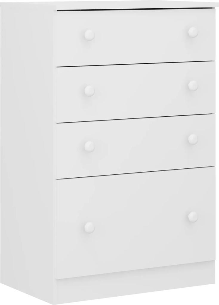 Cômoda New Sorvete Seco 4 Gav. Branco 2665.156 Multimóveis