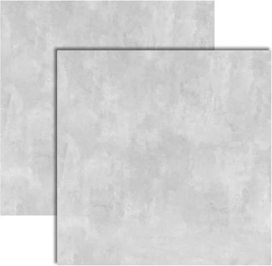 Porcelanato Master Soft Concret Acetinado Retificado 123x123cm - 123001 - Embramaco - Embramaco