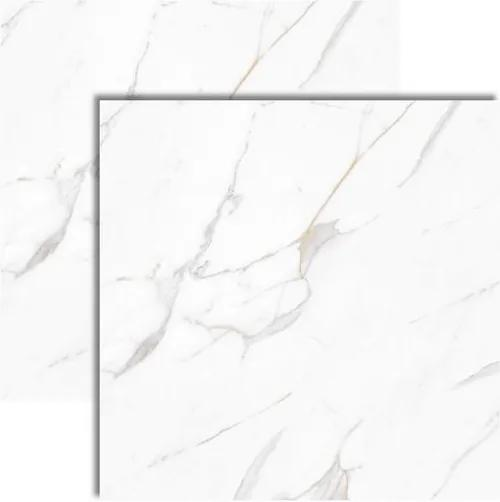 Porcelanato Calacata Gold Plus Acetinado Retificado 83x83cm - 83031 - Embramaco - Embramaco
