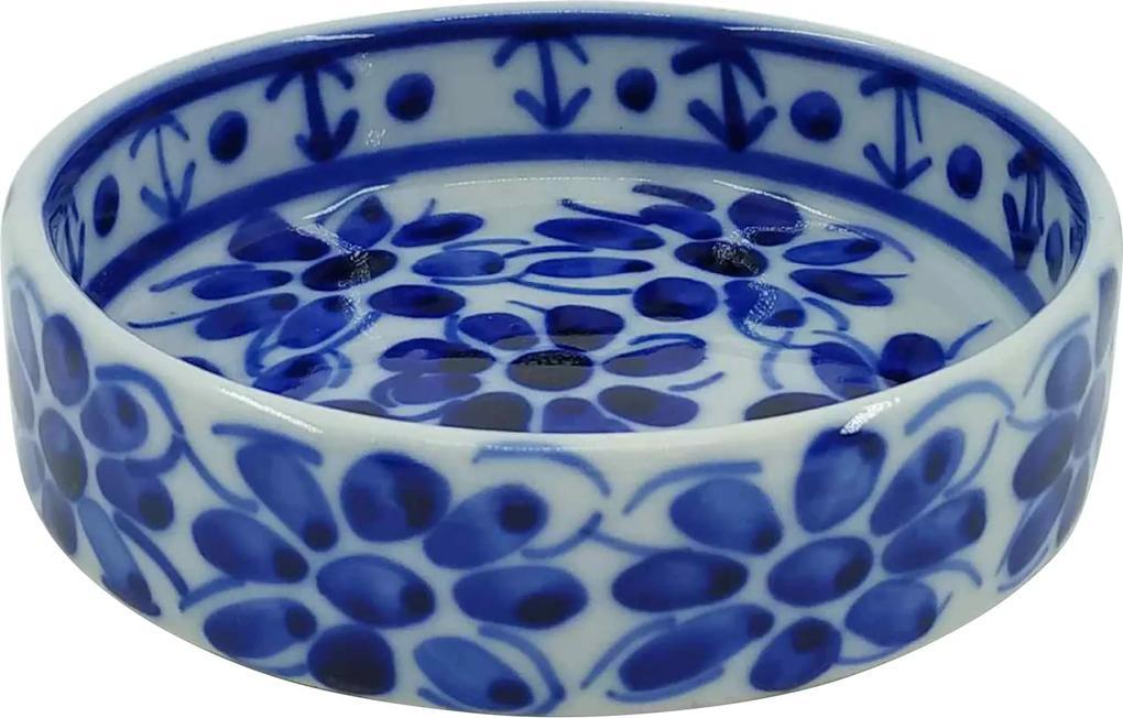 Petisqueira em Porcelana Azul Colonial 12 cm