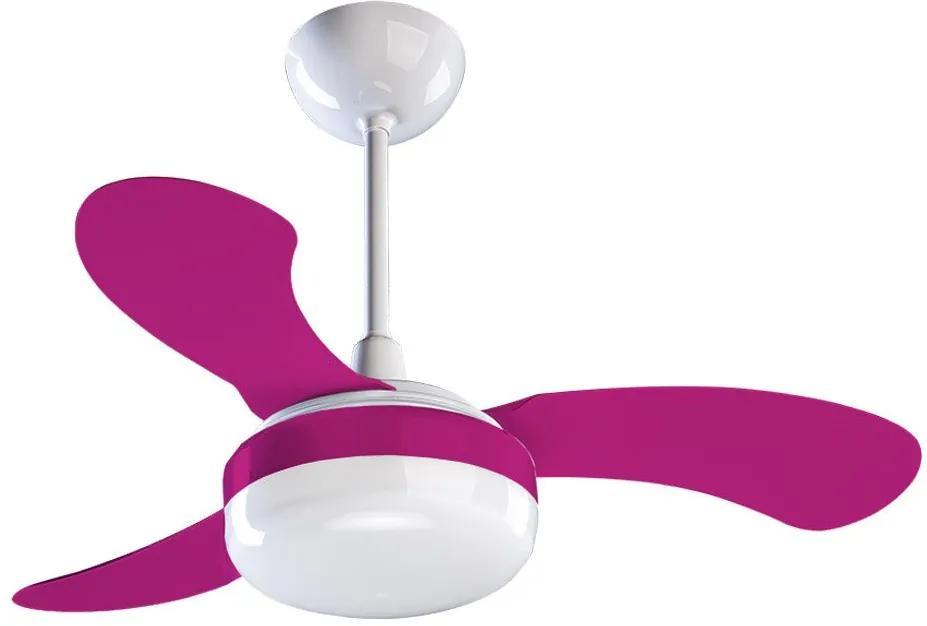 Ventilador de Teto Br 3p Inj Cv3 220v Petit 379 Rosa - Ventisol