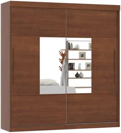 Guarda-Roupa Ipanema Com Espelho Ipê – Mirarack