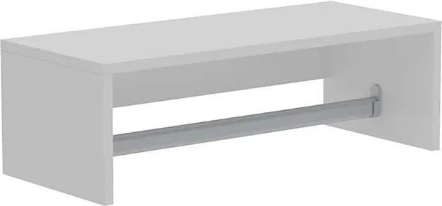 Cabideiro Slim 59cm Branco