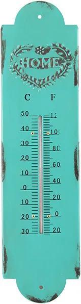 Termômetro Azul em Ferro