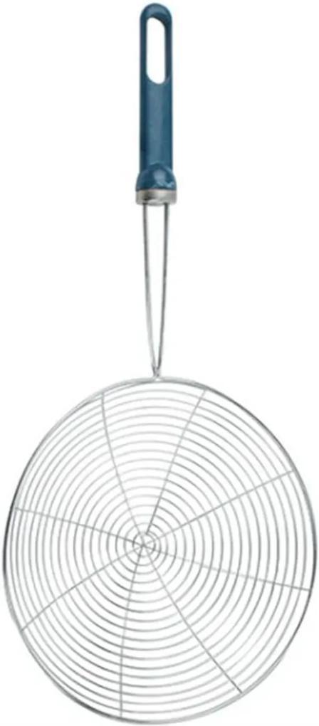 Escumadeira Espumadeira para Fritura Pastel Batata Frita Aro 15 cm Inox