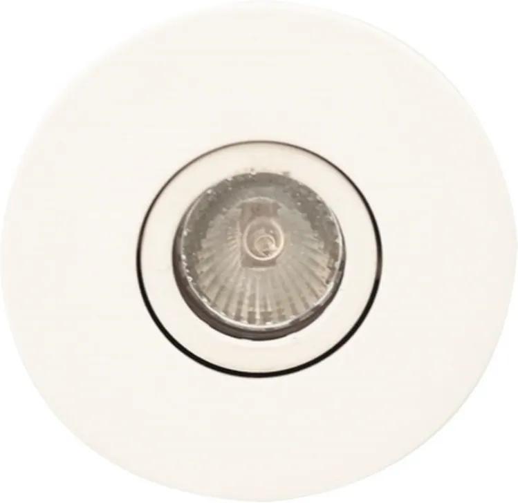 Plafon Embutir Aluminio Branco Face Plana Facetado
