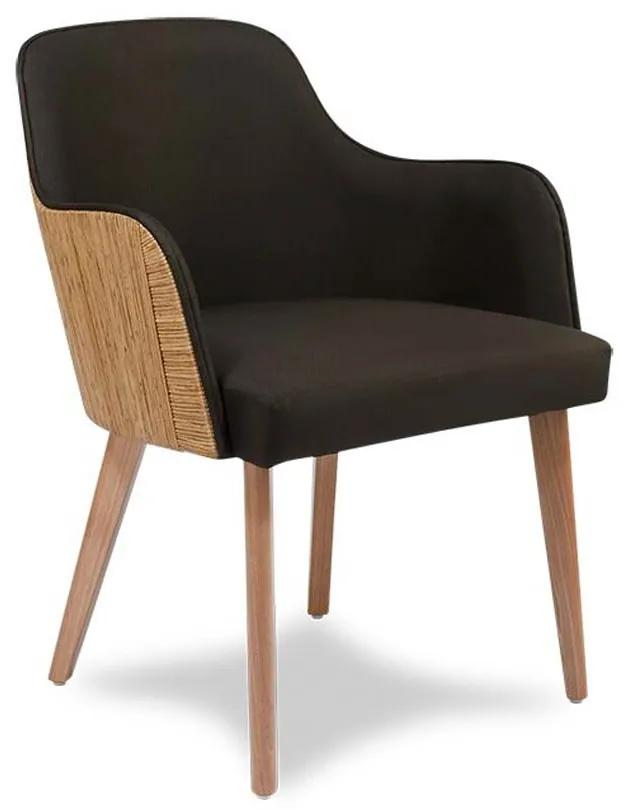 Cadeira Capri Junco Envelhecido Estrutura Apuí Eco Friendly Design Scaburi
