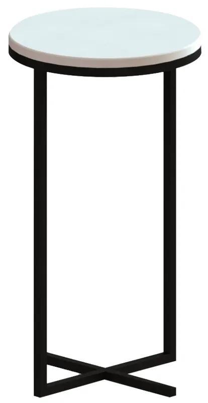 Mesa de Apoio Alta Loren Branca - Wood Prime TS 34201