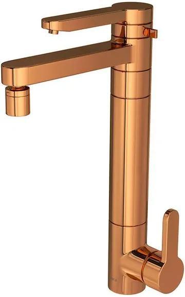 Monocomando com Filtro Mesa Twin Red Gold - 2240.GL.RD - Deca - Deca