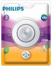 Spot Led Embutir Philips Policarbonato 5W 2700K