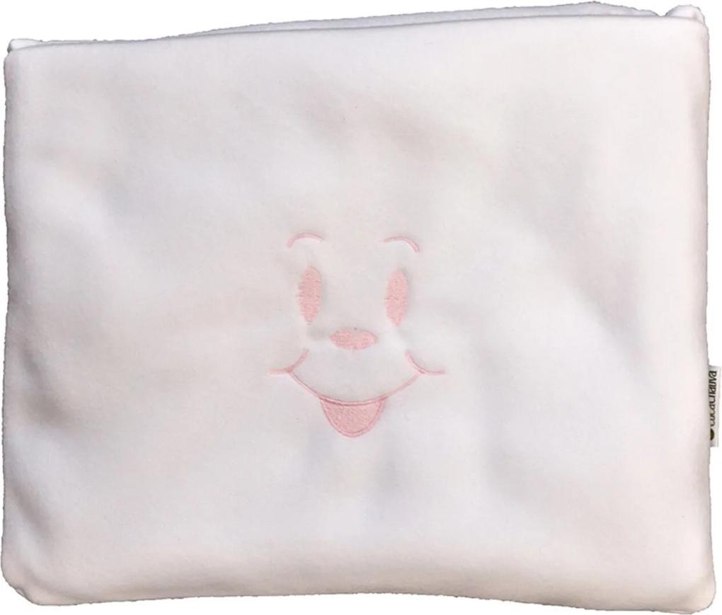 Cobertor Almofada Rosa Cuca Criativa