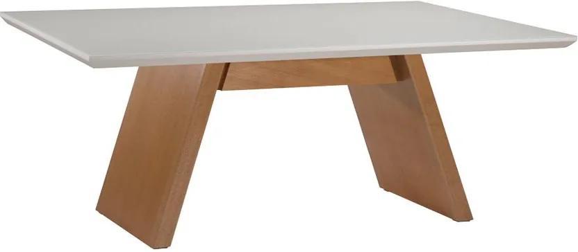 Mesa de Jantar Berlin Com Vidro - Wood Prime MF 34029 1.60 x 0.90