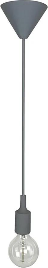 Pendente Cordão Regulável Cinza E27 - Delis - DS2305