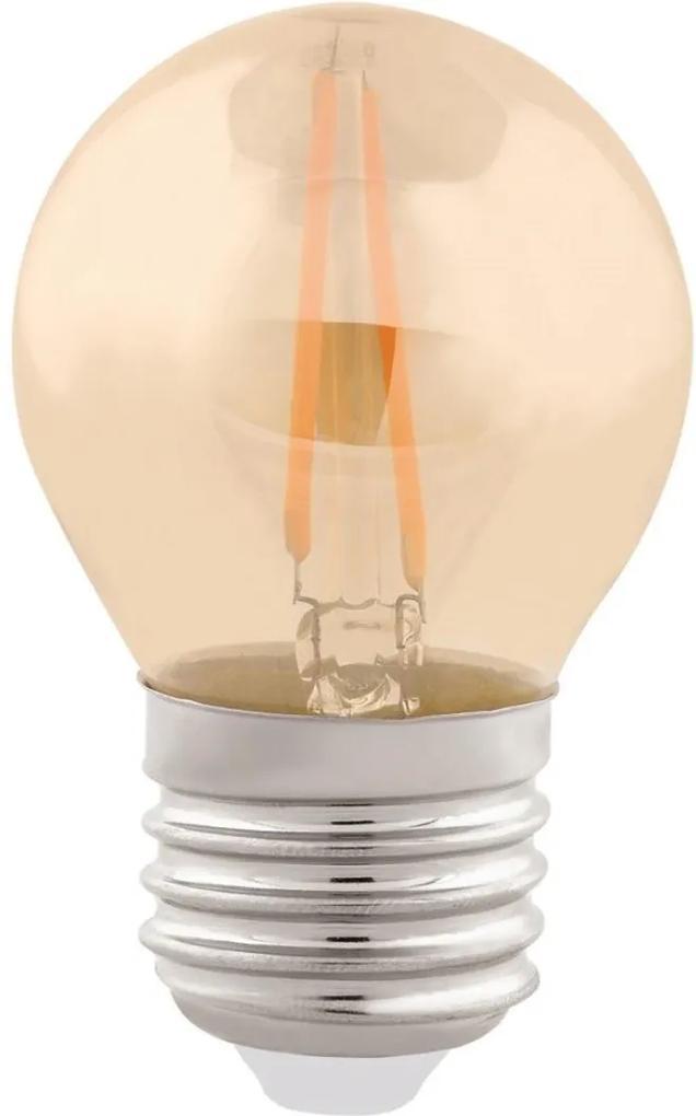 Lampada Bolinha Filamento E27 Led 2w 200lm 270 2400k Vintage