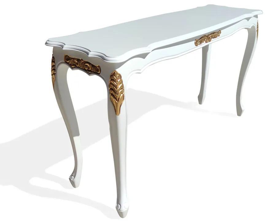 Aparador Provençal Entalhado Madeira Maciça Design de Luxo Peça Artesanal