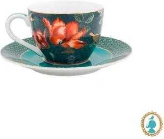 Xícara de Cafezinho Overall Azul Winter Wonderland Pip Studio