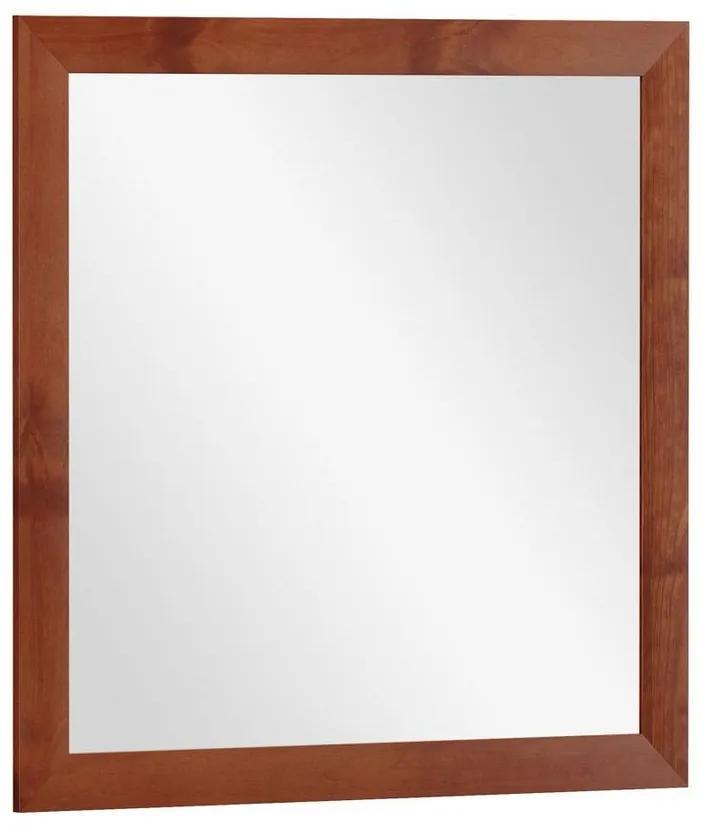 Moldura com Espelho 90x90 cm Cassini Imbuia - NS 47118