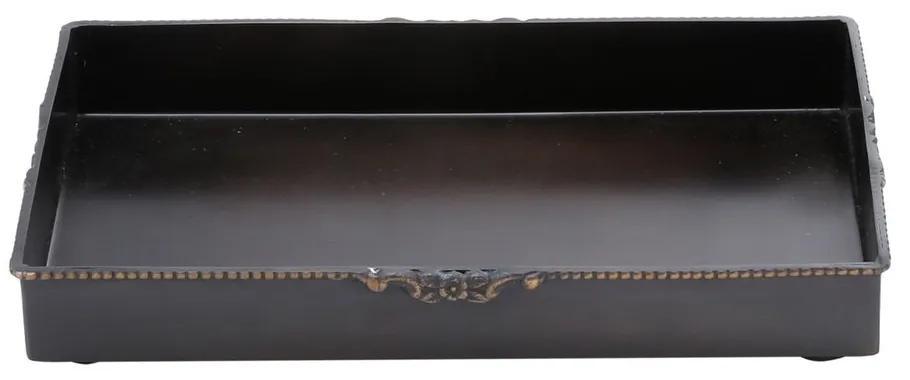 Bandeja De Ferro Para Lavabo 25x15cm 25524 Prestige
