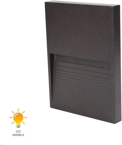 Balizador Fine LED Marrom 9cm 2W 3000K Bivolt - 20423015 - Germany - Germany