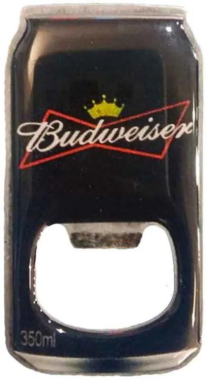 Abridor De Garrafa Com Imã Budweiser